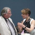 Debate designer Hajo Neubert and Industry Representative Steffi Friedrichs (c) EUSJA