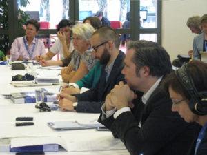 EHFG press conference participants