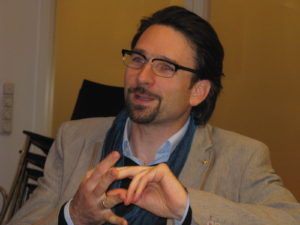 Alex Gerber, professor for science communication at Rhine Waal University and TELI board member (c) Goede