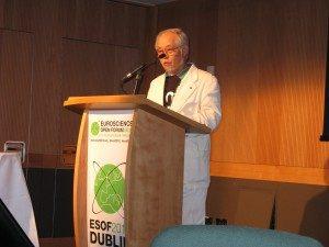 ESOF Dublin 2012: Future of energy with Fumio Arakawa. He demanded to transform energy wasting society (c) Goede